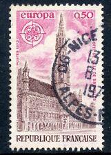 STAMP / TIMBRE FRANCE OBLITERE N°  1752  EUROPA / PLACE DE BRUXELLES