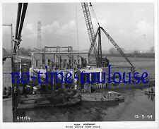 High Marnham Power Station. Construction Photograph 1959. River Water Pump House
