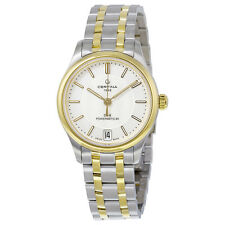 Certina DS- 8 Automatic Silver Dial Two-tone Stainless Steel Ladies Watch