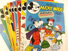 AUSWAHL = Micky Maus Comic Hefte 1977 Nr. 1 - 53 mit / ohne Beilagen