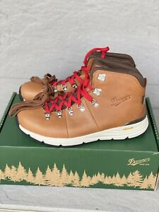 Danner Mountain 600 Boots 62246 Saddle Tan Men's Size 11 D Hiking Lace Up