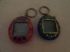 2 DIFFERENT - TAMAGOTCHI CONNECTION - 2004  BANDAI - GIGA TOYS - ELECTRONIC PET