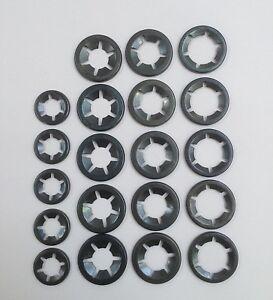 Starlock Imperial Lock On Grab Speed Push Washers 5 x 3/8, 7/16,1/2 & 5/8 20PCE