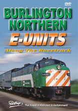 Burlington Northern E-Units DVD Pentrex Along the Racetrack Cab Ride in BNE-9 BN