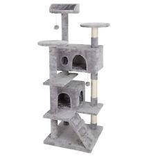 "New listing 52"" Cat Tree Activity Tower Pet Home Durable Structure Soft Faux Fur Platform"
