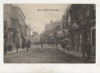 High Street Dartford Kent Vintage Postcard 613b
