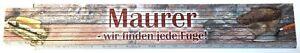 Maurer - wir finden jede Fuge ! Zollstock Meterstab aus Buchenholz 2 m Z073