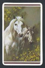 #950.347 Blank Back Swap Cards -MINT- White horses