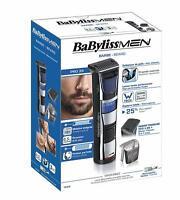 BaByliss T840E Afeitadora Recortadora de barba Cuchillas Acero Inox sin Cable