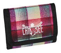 CHIEMSEE Wallet Geldbörse Checky Chan Pink Pink Grün Neu