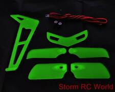 Glowing Night Fin Tail Light Set for Trex 500 size Heli Helicopter UK Sale