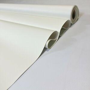 "15 Feet White Marine Vinyl Fabric Outdoor Boat Automotive Upholstery 54""W"