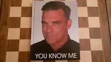 You Know Me SIGNED Robbie Williams Autobiography 2010 1st edition 1st impression