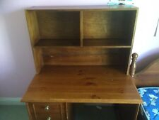 Bunkers Desk And Bookshelf Hutch