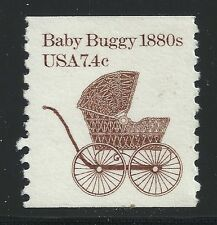 US Scott #1902, Single 1984 Baby Buggy 1880s 7.4c VF MNH