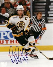 * Ray Bourke * Boston Bruins Autographed 8x10 Photo (Rp)