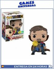 Funko Pop! Marvel: Dr. Strange con Runa SDCC Figura Bobble Head