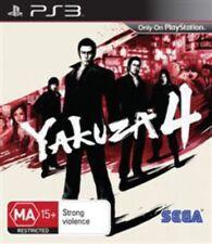 Yakuza 4 PS3 Game USED