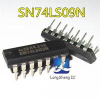 10PCS SN74LS09N DIP-14 74LS09 QUAD 2-INPUT AND GATE