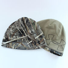 Under Armour UA Reversible Fleece Camo 2.0 Beanie Men Hat Hunting Real Tree Max5