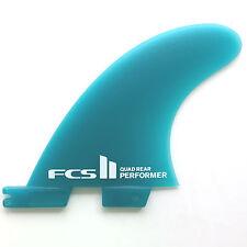 FCS II Performer Neo Glass Quad Rear Surfboards Fins NEW Rears set of 2 FCS2