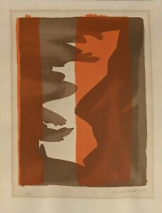 MARC SAINT-SAENS French Lithograph 1972 #62/100