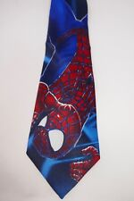 Spiderman Mens Neck Tie Marvel Comics Movie Super Hero Comic Web Necktie