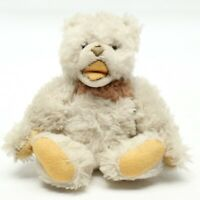 VTG 1960s Steiff Bear Cream White Brown Jointed Mohair Plush Teddy Ear Button