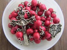 Chaplet Rosary Necklace Jewelry Beads Prayer Cross Jesus Holy Spirit Religious