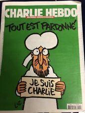 Charlie Hebdo Nr. 1178 Je suis Charlie Zeitung  Journal 2015 NEU + UNGEFALTET