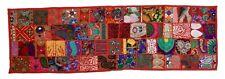 "Indian 18 x 60"" Vintage Patchwork Khambadiya Cotton Table Runner Home Decorative"