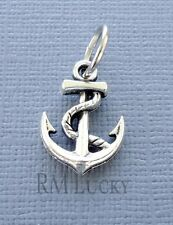 Charm Pendant Dangle ANCHOR Fits European Charm Bracelet or Necklace C216