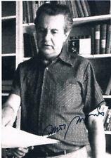"""Czechoslovakia Zdeněk Mlynář 1930-97 Prague Spring autograph 4""""x6"""" photo signed"""