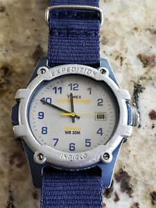 Mens Timex Expedition Indiglo, New battery, preowned, perfect Crystal