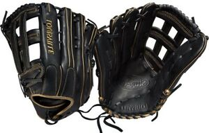 "LHT Lefty Louisville Slugger WTLSZLS19135 13.5"" Super Z Pro Flare Softball Glove"