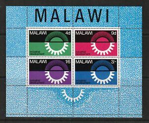 MALAWI 1967 M.S. , FOUR VALUES.   M.N.H.