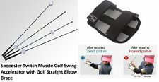 Speedster Golf Swing Accelerator with Golf Clicking Elbow Posture Corrector