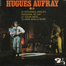 """7"""" FRENCH EP 45 TOURS HUGUES AUFRAY """"Le Rossignol Anglais +3"""" 1965"""