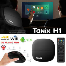 Tanix H1 Android 9.0 Smart TV Box 8G Quad Core 4K HD 2.4GHz WiFi Media Player US