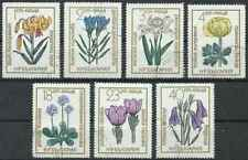 Timbres Flore Bulgarie 1973/9 o lot 28725