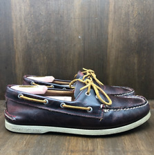 Sperry Top Sider Brown Good Quality Shoes Size 11