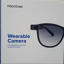 PogoCam Removable Photo & HD Video Camera for Your Glasses