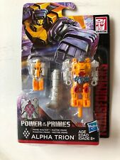TRANSFORMERS ALPHA TRION Prime Master Power of the Primes Generation 2018