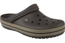 Men's Crocs Crocband M Sandals in Brown UK 6 / EU 39 - 40
