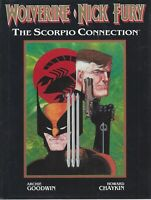 Wolverine/Nick Fury The Scorpio Connection Howard Chaykin HC Marvel 1989
