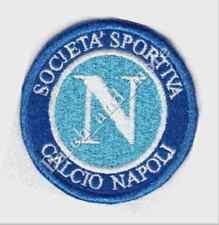 [Patch] SOCIETA' SPORTIVA CALCIO NAPOLI replica diametro cm 8 toppa ricamo -991
