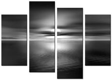 4 PANEL TOTAL SIZE 90x70cm ABSTRACT ART  DIGITAL  PRINT MOUNTED Dreams B & White