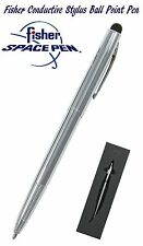 Fisher M4 Series - Chrome Space Pen With Conductive Stylus - #M4C/S