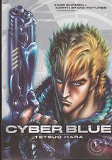 CYBER BLUE tome 1 Tetsuo Hara manga VF * seinen hokuto no ken
