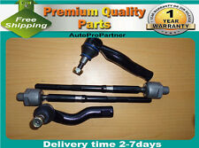 4 INNER OUTER TIE ROD END SET FOR CHEVROLET CAPRICE 11-14